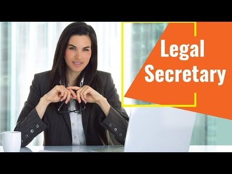 Legal Secretary - Video Training Course | John Academy - YouTube