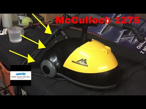 The Steam Cleaner I Choose For Mobile Detailing (McCulloch 1275 Steamer)