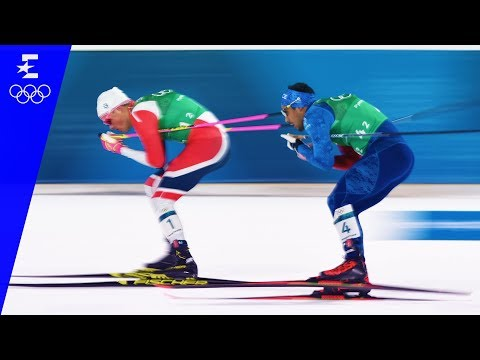 Cross-Country Skiing | Men's Team Sprint Free Highlights | Pyeongchang 2018 | Eurosport