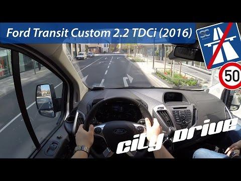 Ford  Transit Custom VAN Фургон класса M - тест-драйв 3