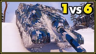 AMX 50 Foch B - 11 KILLS - 1 vs 6 - World of Tanks Gameplay
