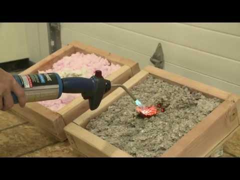 Fire Testing Insulation Materials