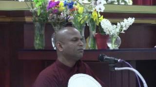 Kukulpane Sudassi Thero On  April 17, 2017 At Buddhist Vihara  In Surrey, BC. Canada Part 6