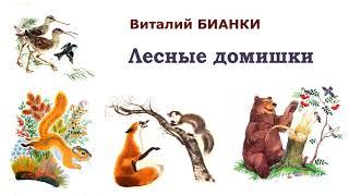 """В.Бианки """"Лесные домишки"""" - Рассказы и сказки Бианки - Слушать"""