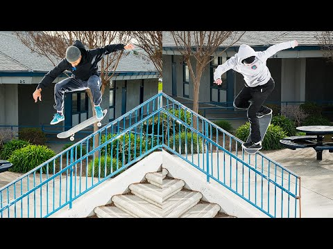 SO Many Hammers! 18 STAIR Noseblunt?! Day Of Destruction   Santa Cruz Skateboards