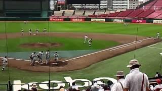 2016高校野球宮城県大会仙台育英シートノック