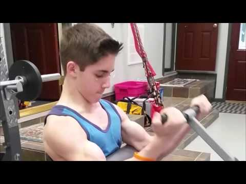 13 Year Old Bodybuilding Journey Thus Far