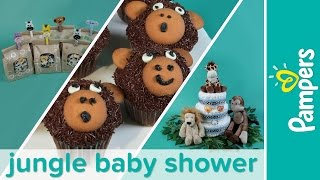 Jungle Theme Baby Shower Ideas Pampers