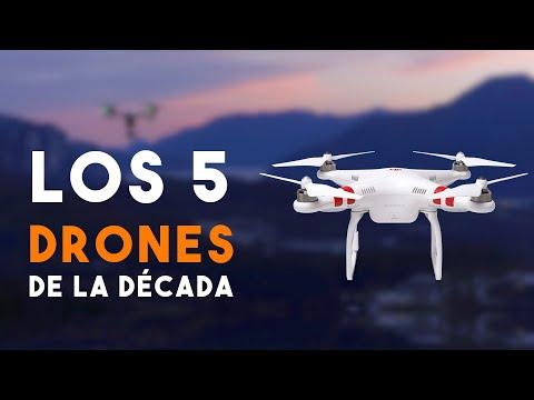 Los 5 Drones DJI más importantes de la década