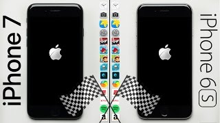 iPhone 7 vs. iPhone 6S Speed Test