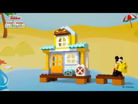 Vidéo LEGO Duplo 10827 : La maison à la plage de Mickey et ses amis