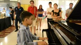 Karl Estoesta Dahil Sayo Pilita Corales In Piano @ Eastwood Mall July 13 2014