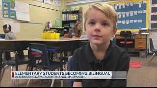 Teaching Elementary Kids Dual Language
