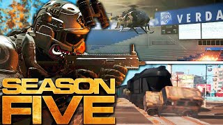 Modern Warfare: The HUGE SEASON 5 REVEAL! (WARZONE Map Changes, New Weapons, & MORE)