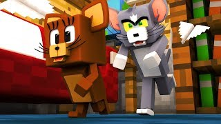 TOM VE JERRY HAPİSHANE'den KAÇIYOR! - MİNECRAFT