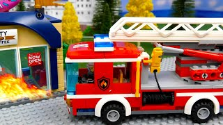 LEGO Truck, Police Car and Experimental Cars | Toy Vehicles for Kids | Cars for Childrens