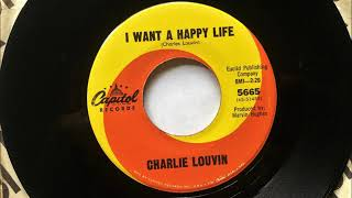Something's Wrong + I Want A Happy Life , Charlie Louvin , 1966