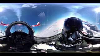 WOOW!!! Полет на истребителе в 360 градусов! Сферическая панорама на самолете!