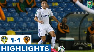 Highlights   Leeds United 1-1 Hull City (8-9 on pens)   Carabao Cup Second Round