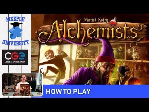 Alchemists Board Game - Thorough How to Play in 27 Minutes
