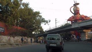 Driving in Delhi (Karol Bagh) - India
