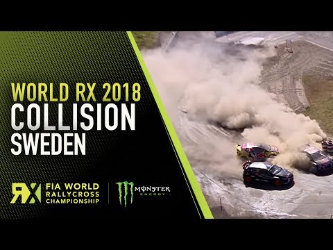 Loeb and Timerzyanov Collide | World Rallycross of Sweden