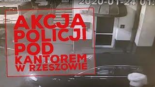Akcja policji pod kantorem w Rzeszowie