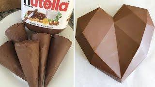 My Favorite Chocolate Heart Cake Recipes   Top Yummy Chocolate Cake Decorating Ideas   Mr Cakes