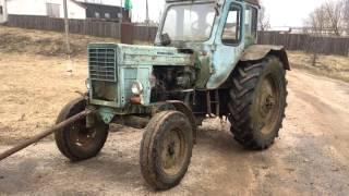 Тянем трактор который стоял 10 лет,разбили айфон, первый тест драйв урал