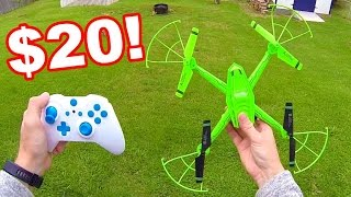 Crazy Cheap Huge Quadcopter RF607 Galaxy Vistor 2 Review - TheRcSaylors