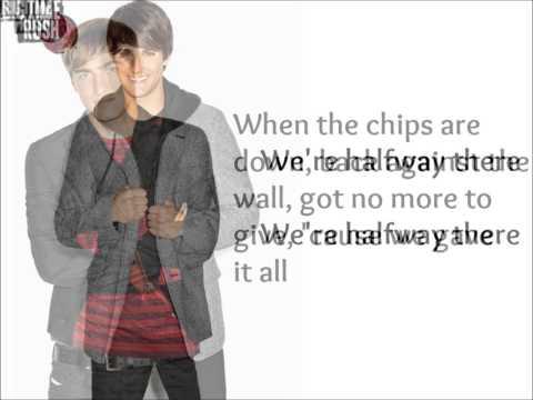 Big Time Rush - Halfway There Lyrics