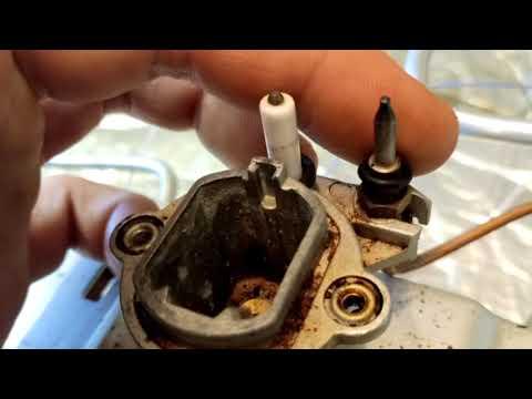 Ремонт поджига, розжига газовой плиты Bosh  и других похожих плит.