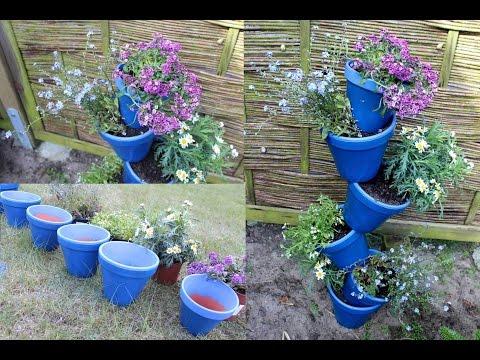 Individuelle Blumentopfranke - In Zukunft wird in die Höhe gepflanzt