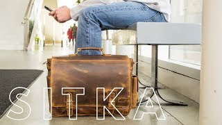 Sitka Leather Messenger - A Bag For Cameras & Everyday Carry