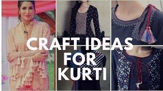 Kurti Neck Design With Tassel ฟร ว ด โอออนไลน ด ท ว ออนไลน