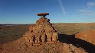 Drone flying southern Utah & Arizona landscapes