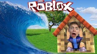 Построй Свой Плот Челлендж В игре Роблокс как майнкрафт Приключения мульт героя детский летсплей