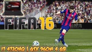 FIFA 16 Gameplay - GTX 960M 4 GB (ASUS ROG Laptop)