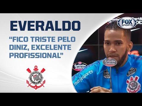 Corinthians ao vivo! Confira a entrevista do atacante Everaldo!