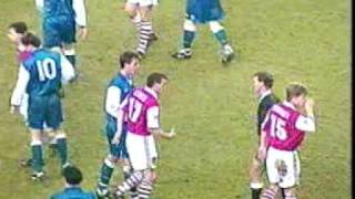 preview picture of video 'Millwall vs Arsenal FA cup 7/1/95'