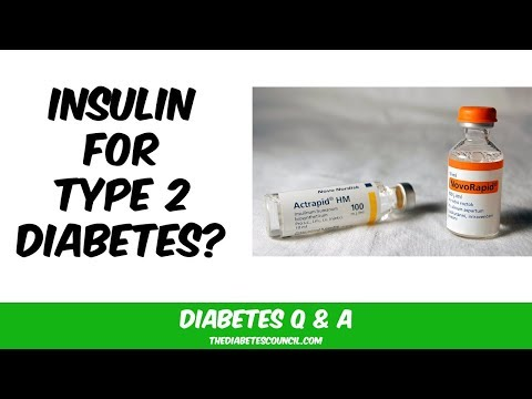 Schließlich Typ-2-Diabetes mellitus