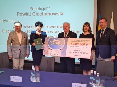 Przeszło 10 mln zł trafi do powiatu ciechanowskiego
