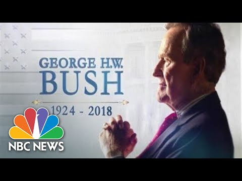 Special Report: Houston Funeral Service For George H.W. Bush | NBC News