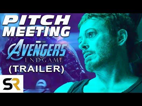 Avengers: Endgame Trailer Pitch Meeting