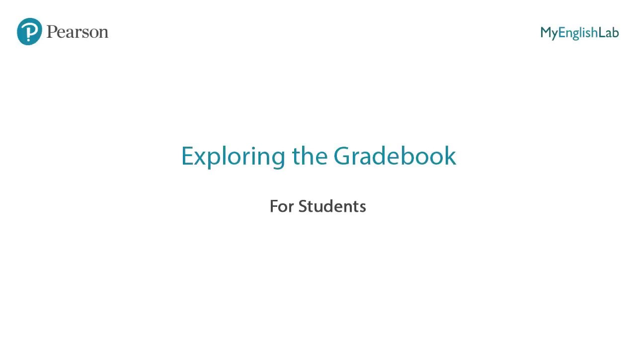 Exploring the Gradebook