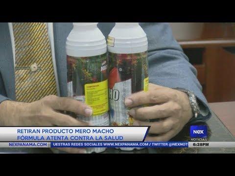 Retiran producto Mero Macho fórmula atenta contra la salud