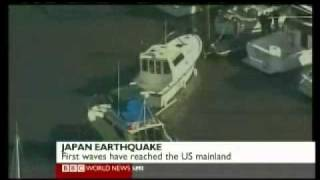 Japan 2011 Earthquake 4 - Tsunami & Footage - BBC News America 11.03.2011