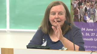 Bernadette McAliskey speaks at the World 2018 Community Development Conference