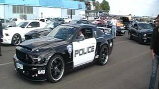 Ford Shelby, Shelby GT 500 Treffen Genderkingen Sept 2010 (Shelby Police/Go-Kart) Clip 19 von 38