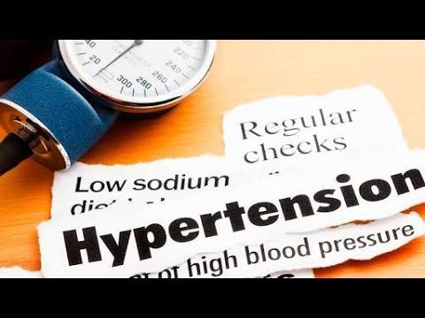 Tratamientos de agua de la hipertensión